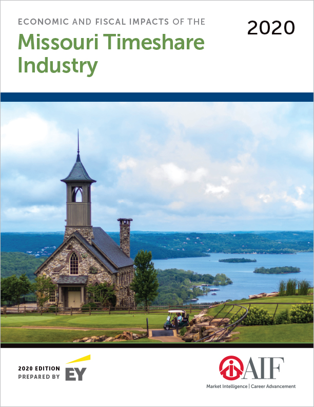 Economic and Fiscal Impacts of the Missouri Timeshare Industry, 2020 Ed.