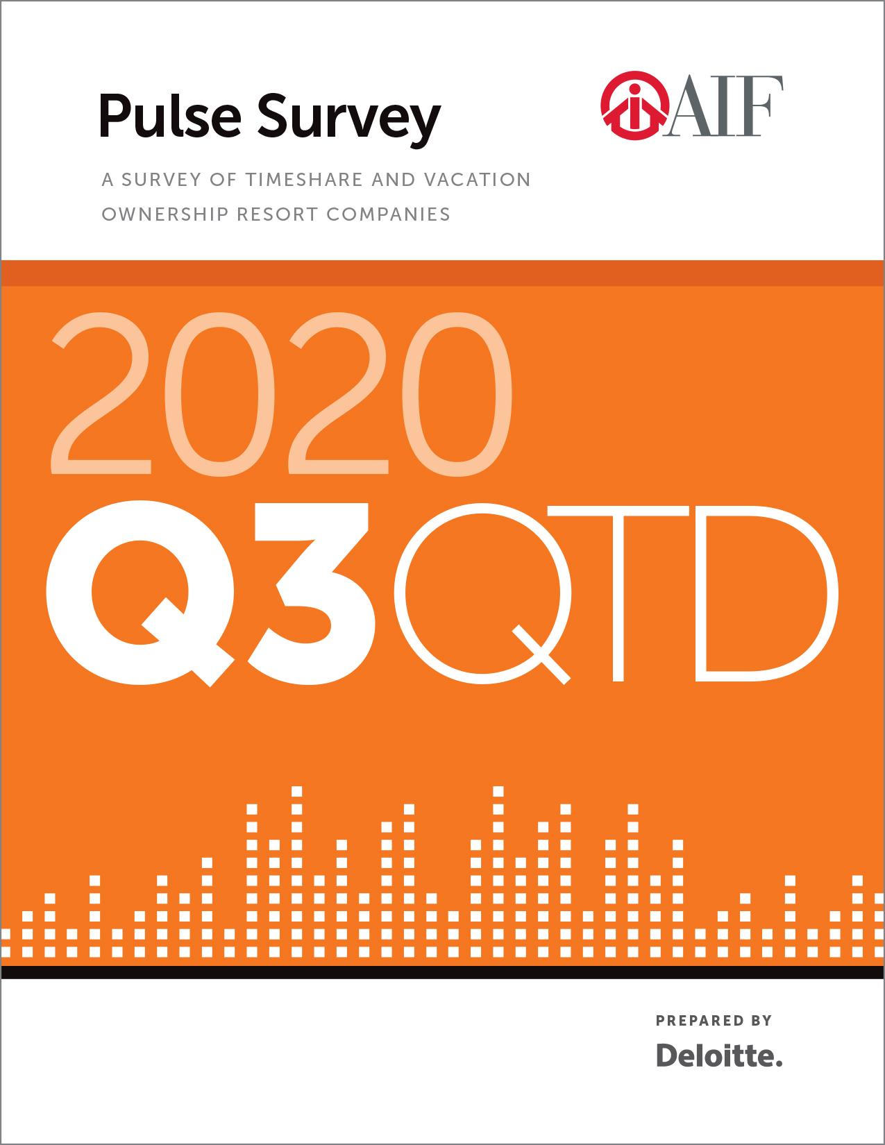 Financial Performance Pulse Survey, Q3 2020